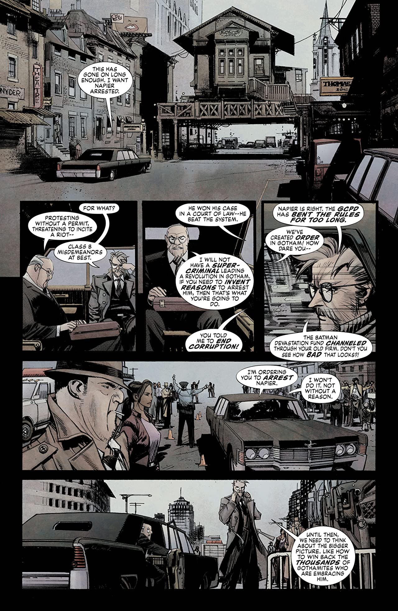 Batman: White Knight (2017-) #4