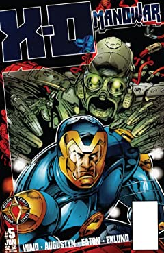 X-O Manowar (1996-1998) No.5