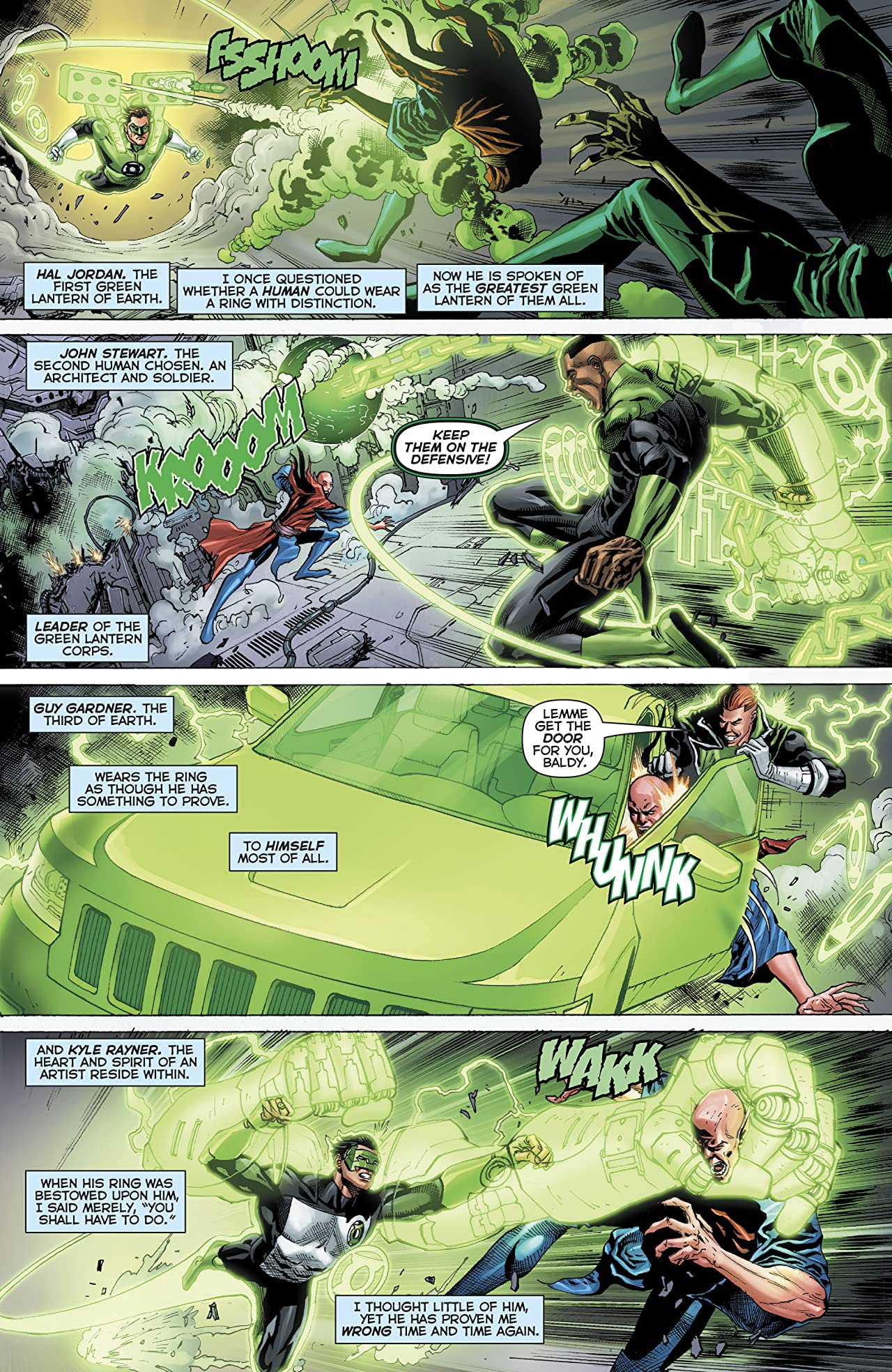 Hal Jordan and The Green Lantern Corps (2016-) No.36