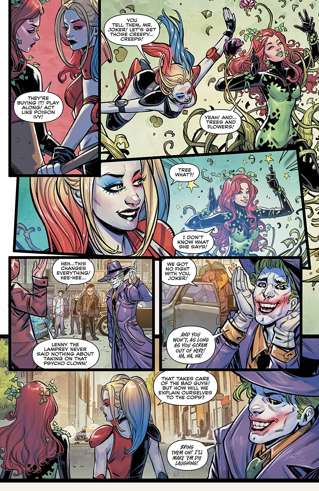 Harley & Ivy Meet Betty and Veronica (2017-) #4