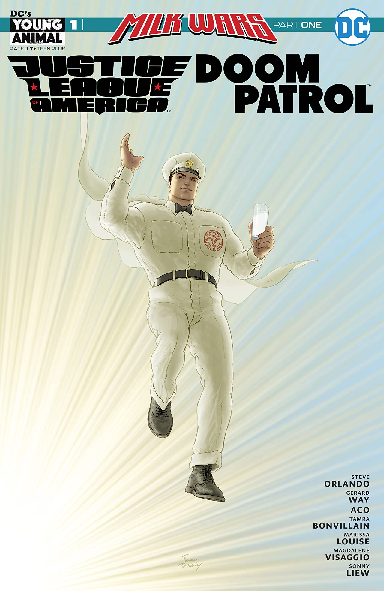 JLA/Doom Patrol Special (2018) No.1