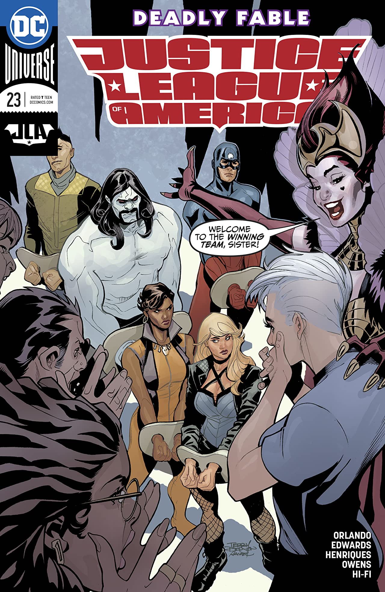 Justice League of America (2017-) #23