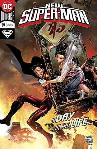 New Super-Man (2016-2018) #19