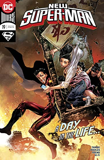 New Super-Man (2016-) No.19