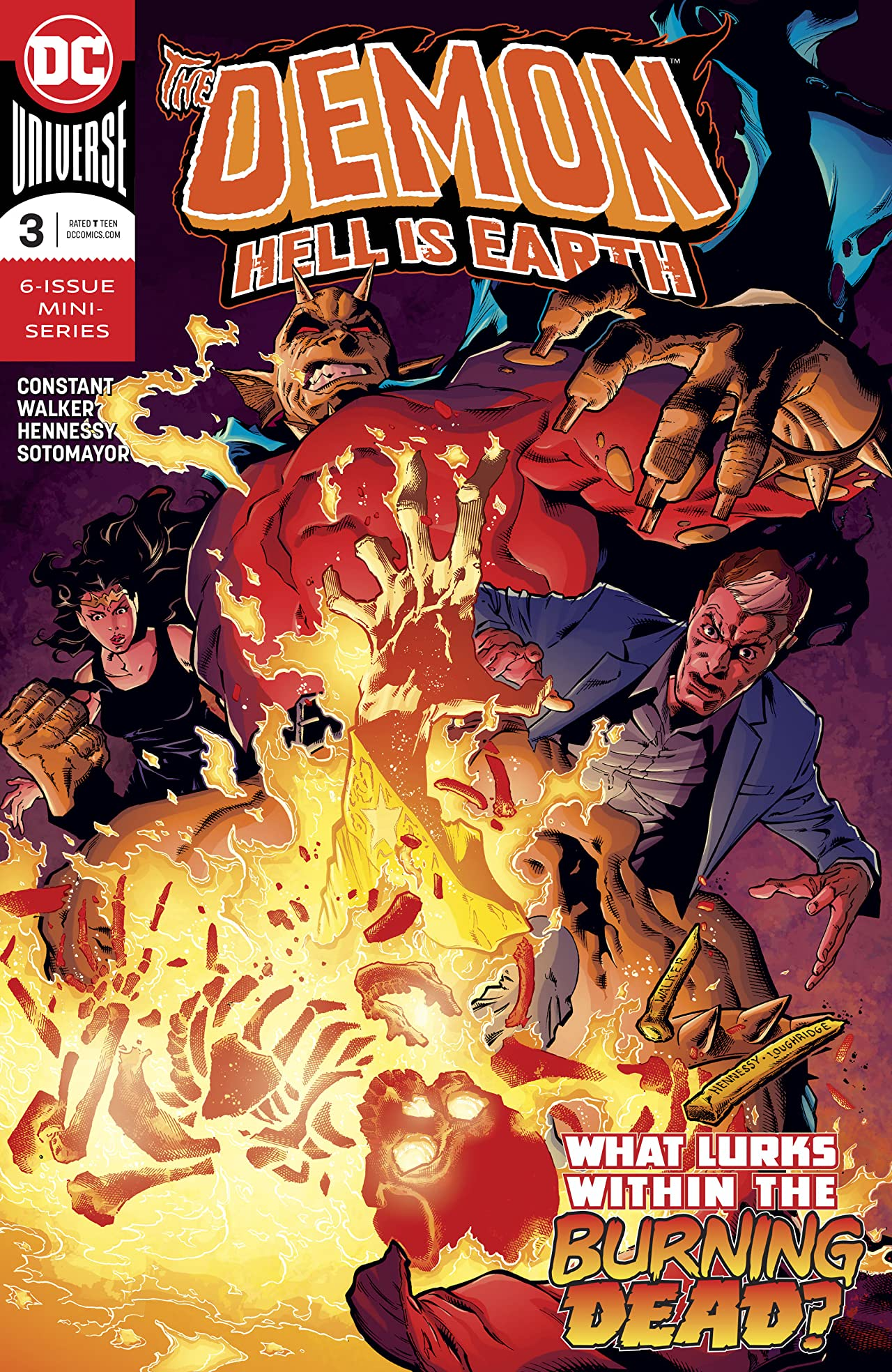 The Demon: Hell is Earth (2017-) #3