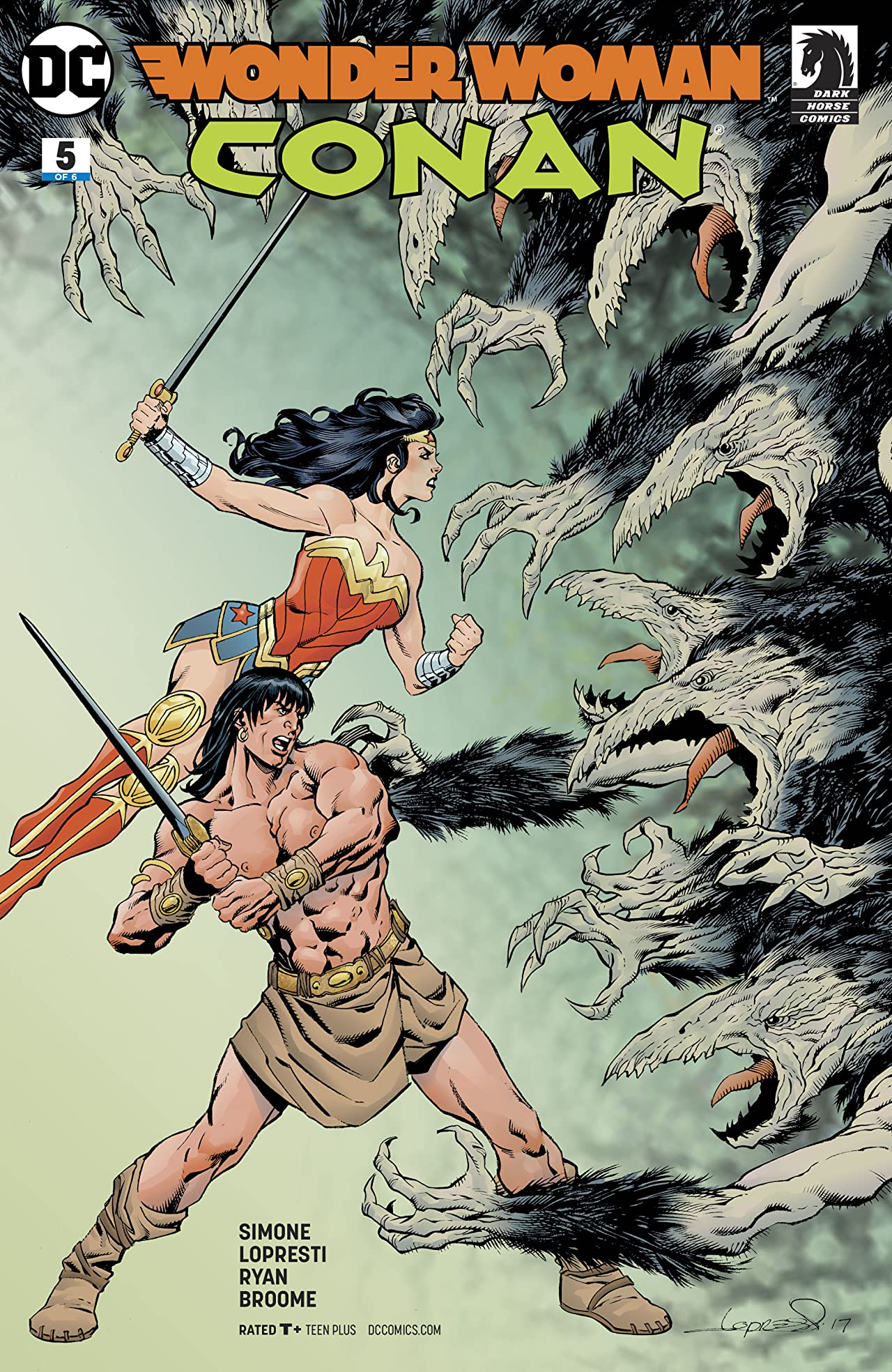 Wonder Woman/Conan (2017-) #5
