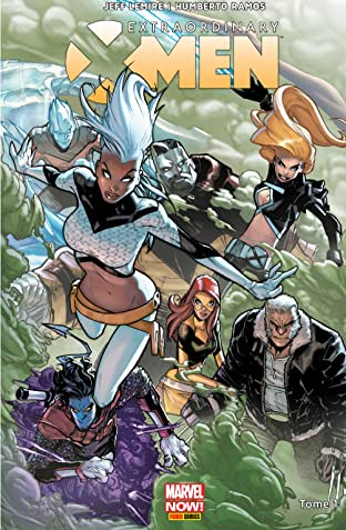 Extraordinary X-Men Vol. 1: Refuge-X
