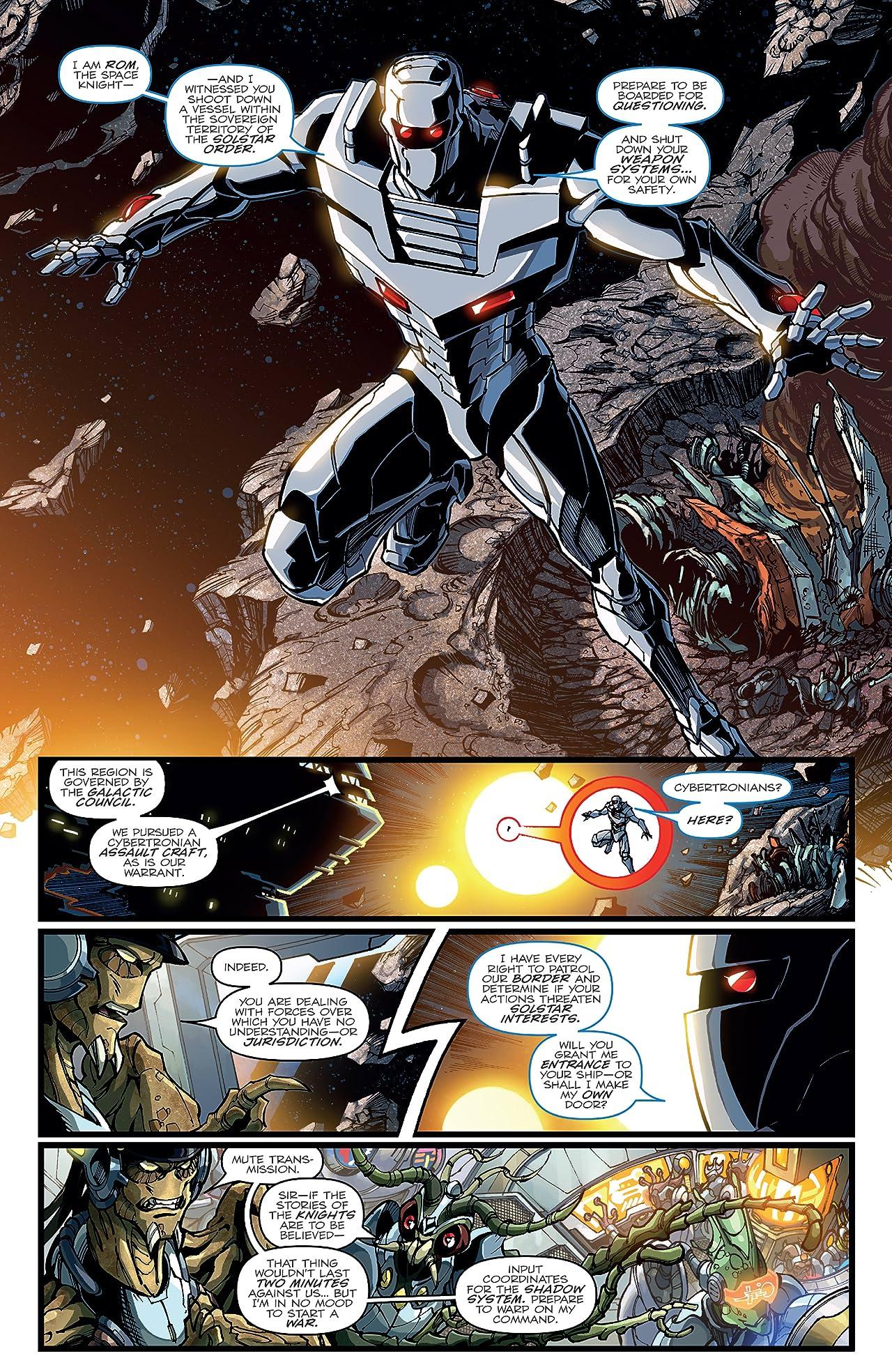 Rom vs. Transformers: Shining Armor