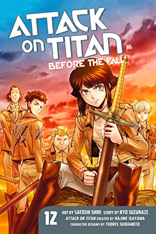Attack on Titan: Before the Fall Tome 12