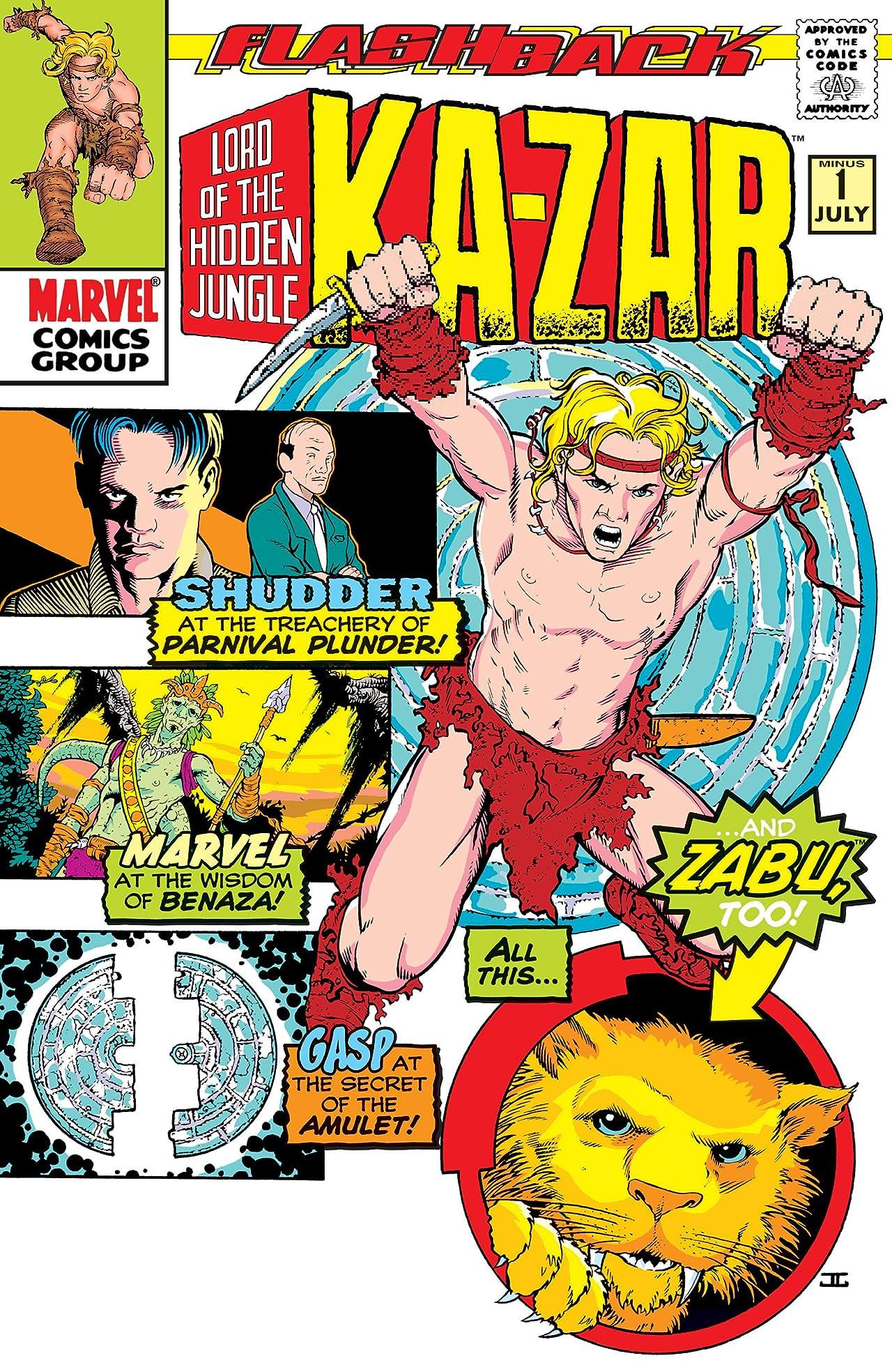 Ka-Zar (1997-1998) #-1