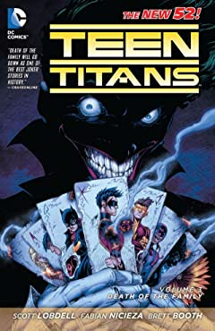 Teen Titans (2011-2014) Vol. 3: Death of the Family