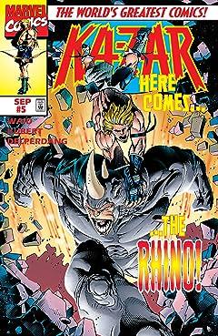 Ka-Zar (1997-1998) #5