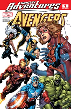 Marvel Adventures The Avengers (2006-2009) #1