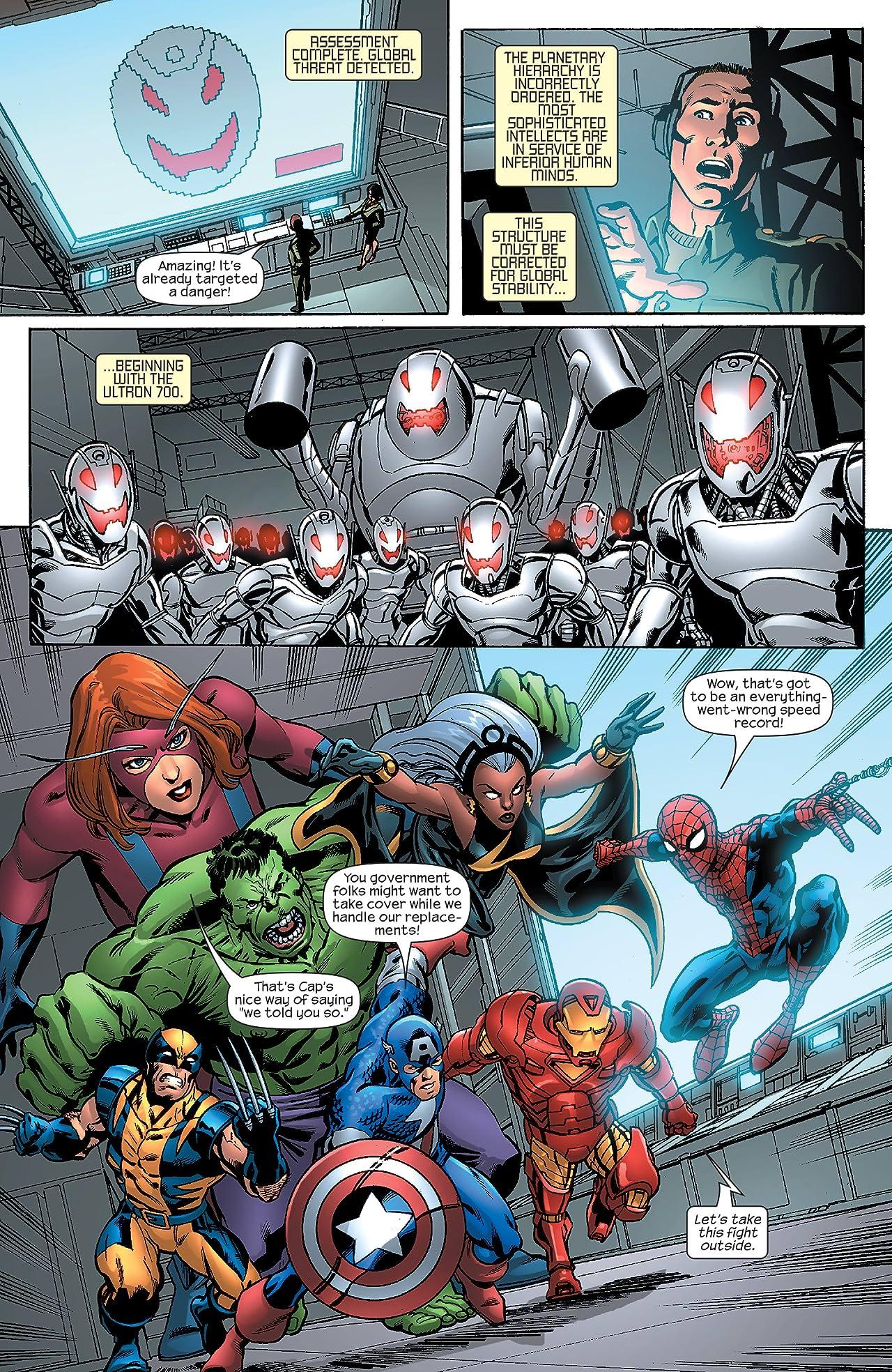 Marvel Adventures The Avengers (2006-2009) #1