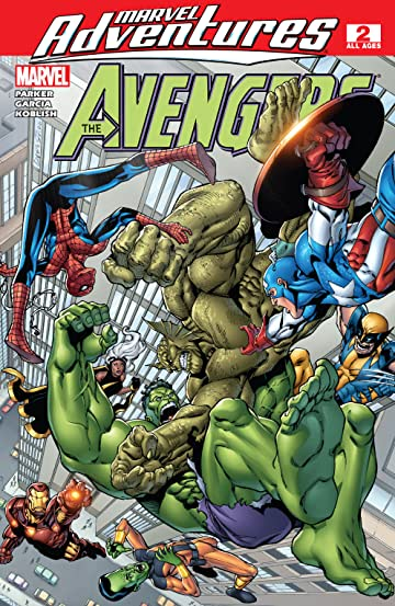 Marvel Adventures The Avengers (2006-2009) #2