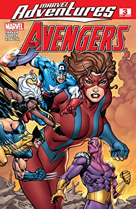 Marvel Adventures The Avengers (2006-2009) #3