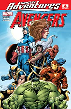Marvel Adventures The Avengers (2006-2009) #4