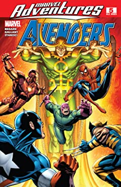 Marvel Adventures The Avengers (2006-2009) #5