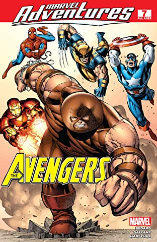 Marvel Adventures The Avengers (2006-2009) #7