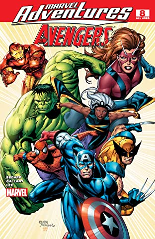 Marvel Adventures The Avengers (2006-2009) #8