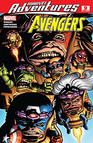 Marvel Adventures The Avengers (2006-2009) #9