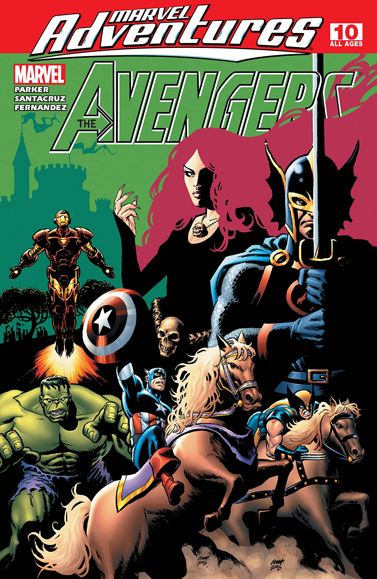 Marvel Adventures The Avengers (2006-2009) #10