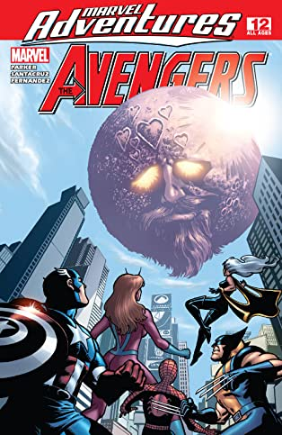 Marvel Adventures The Avengers (2006-2009) #12