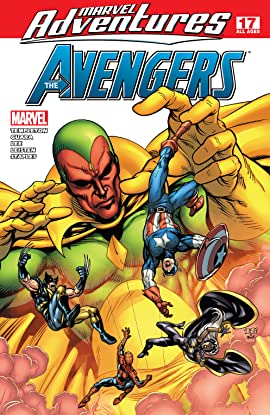 Marvel Adventures The Avengers (2006-2009) #17