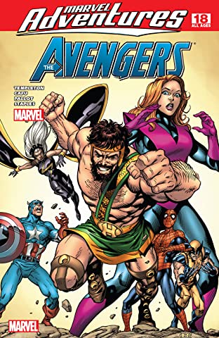 Marvel Adventures The Avengers (2006-2009) #18