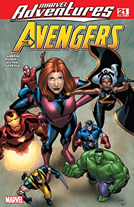Marvel Adventures The Avengers (2006-2009) #21