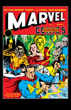 Marvel Mystery Comics (1939-1949) #3