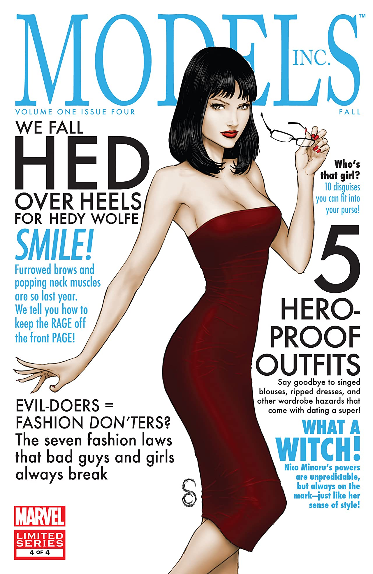 Models, Inc. (2009) #4 (of 4)