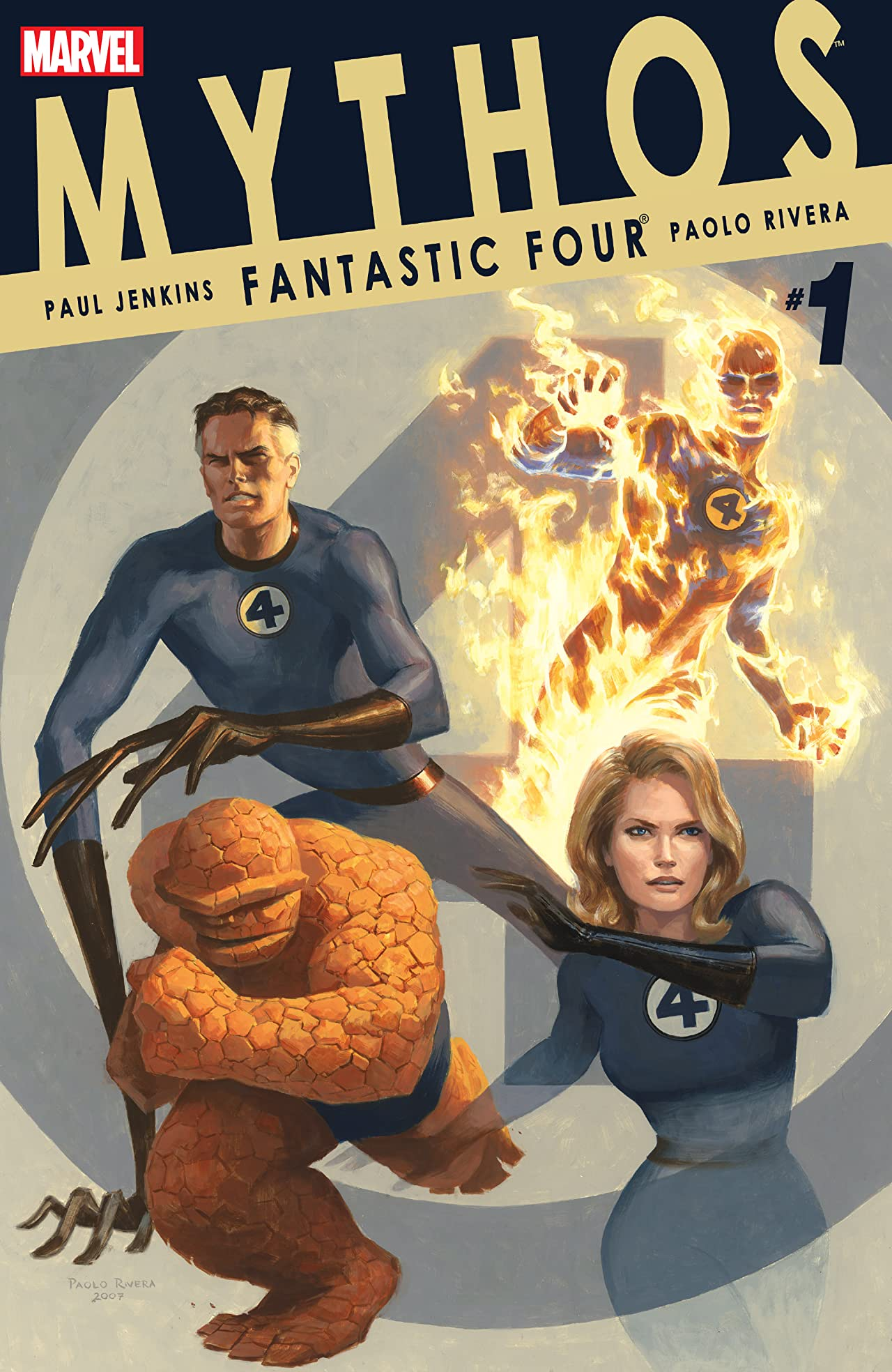Mythos: Fantastic Four (2007) #1