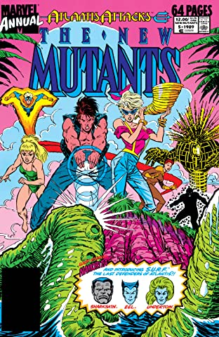 New Mutants (1983-1991) Annual #5