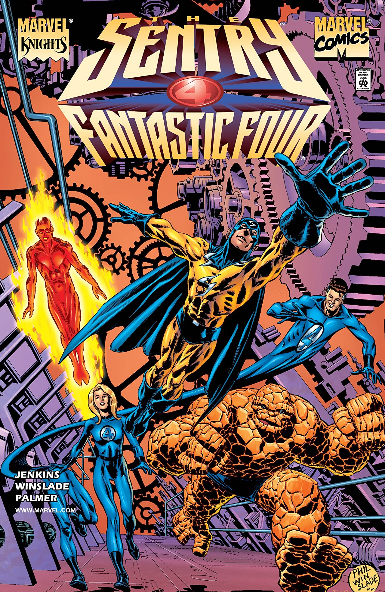 Sentry: Fantastic Four (2001) #1