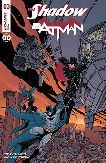 The Shadow/Batman No.3