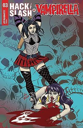 Hack/Slash vs. Vampirella #3