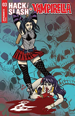 Hack/Slash vs. Vampirella #3