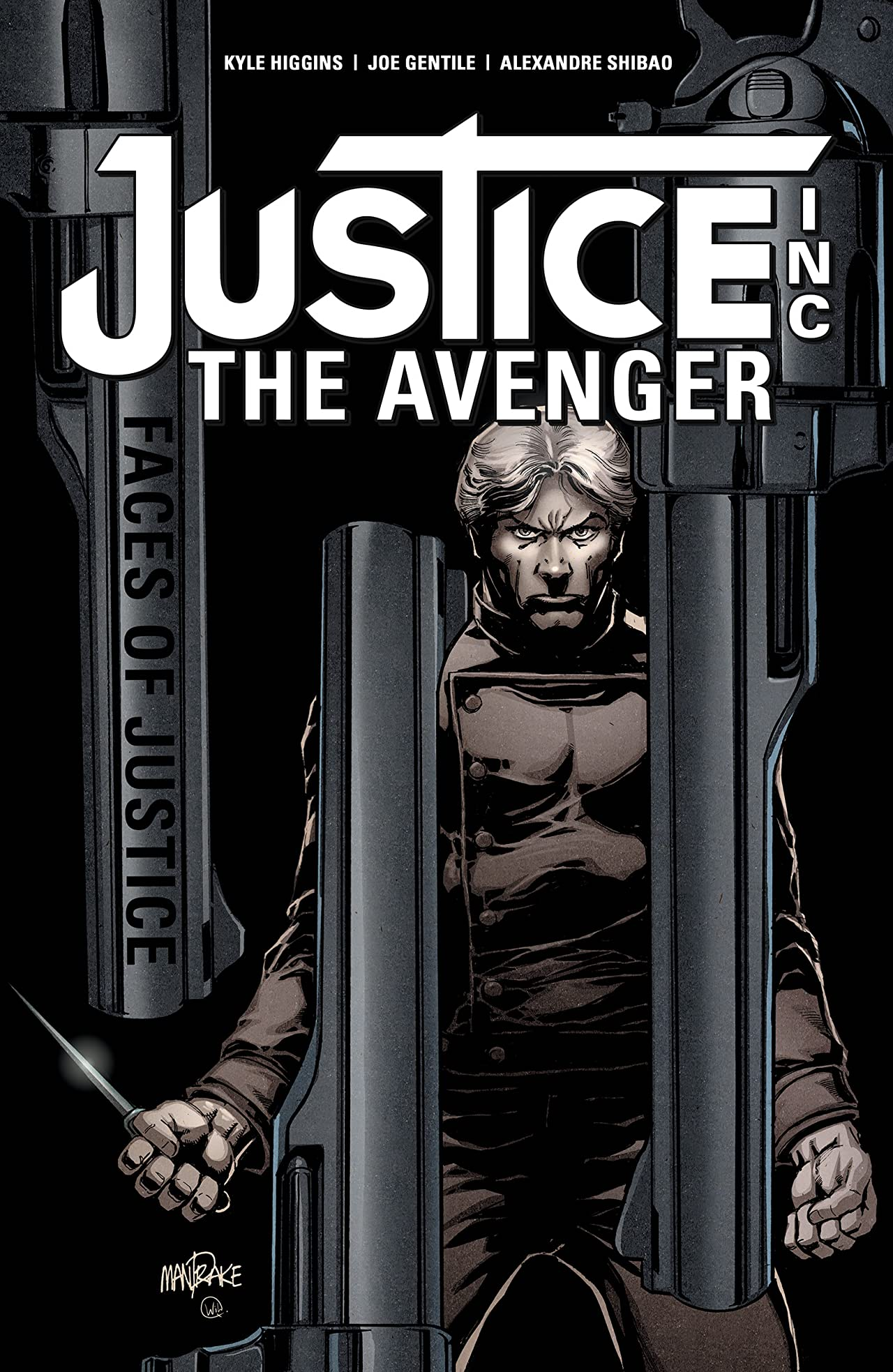 Justice, Inc.: The Avenger - Faces Of Justice