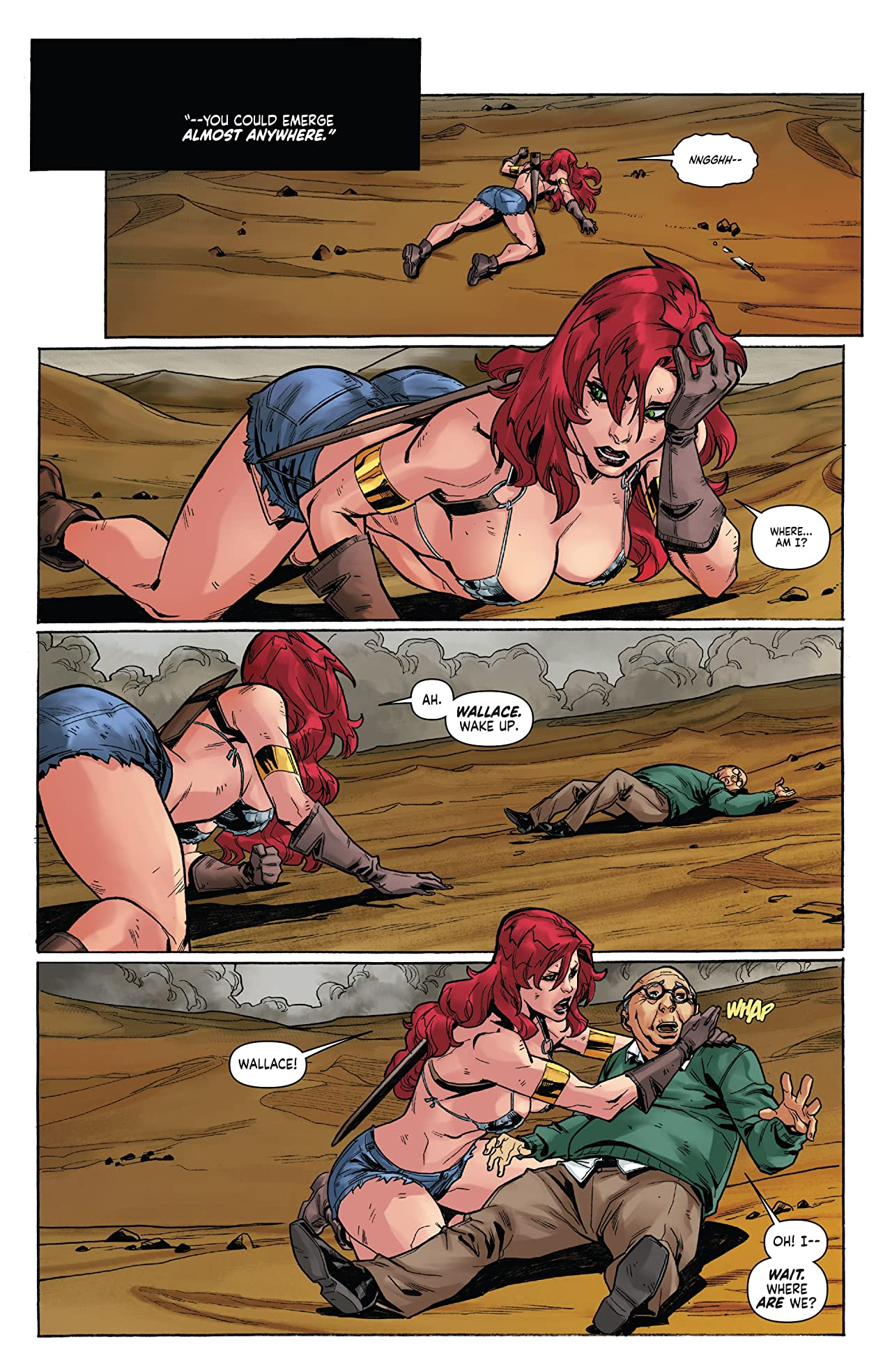 Red Sonja Vol. 4 #12