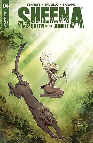 Sheena: Queen Of The Jungle No.4