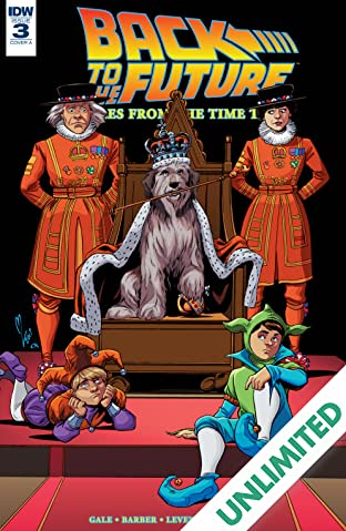 Back to the Future: Tales from the Time Train #3 (of 6)