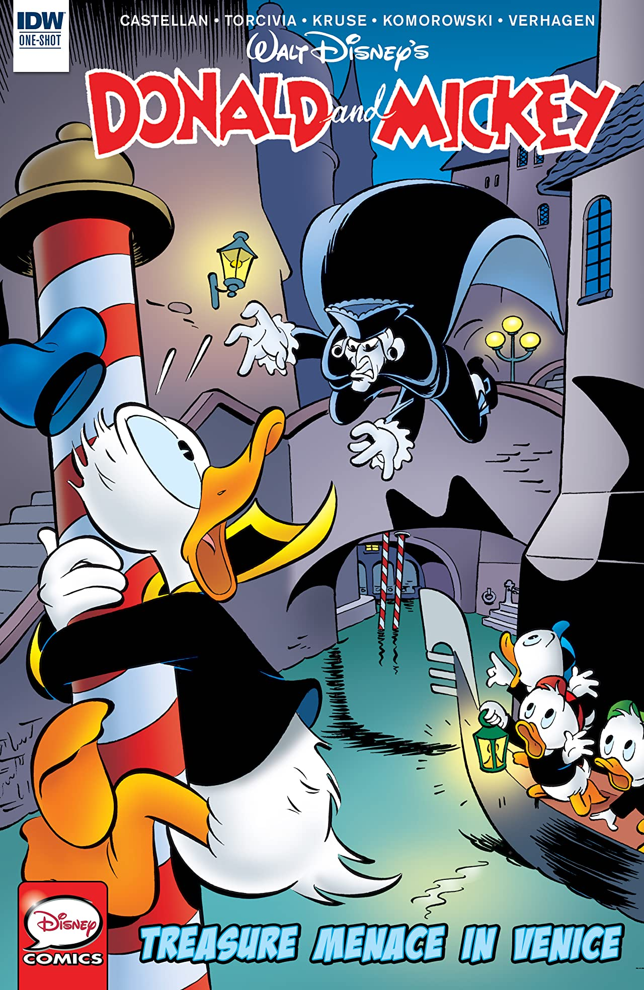 Donald and Mickey: Treasure Menace in Venice