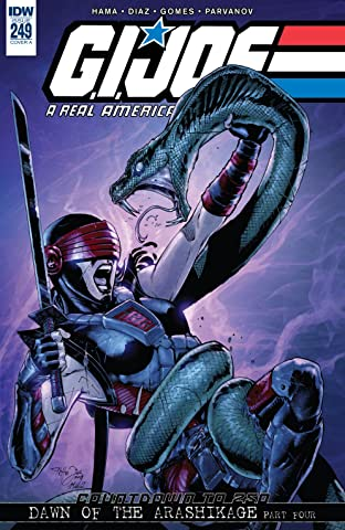 G.I. Joe: A Real American Hero #249