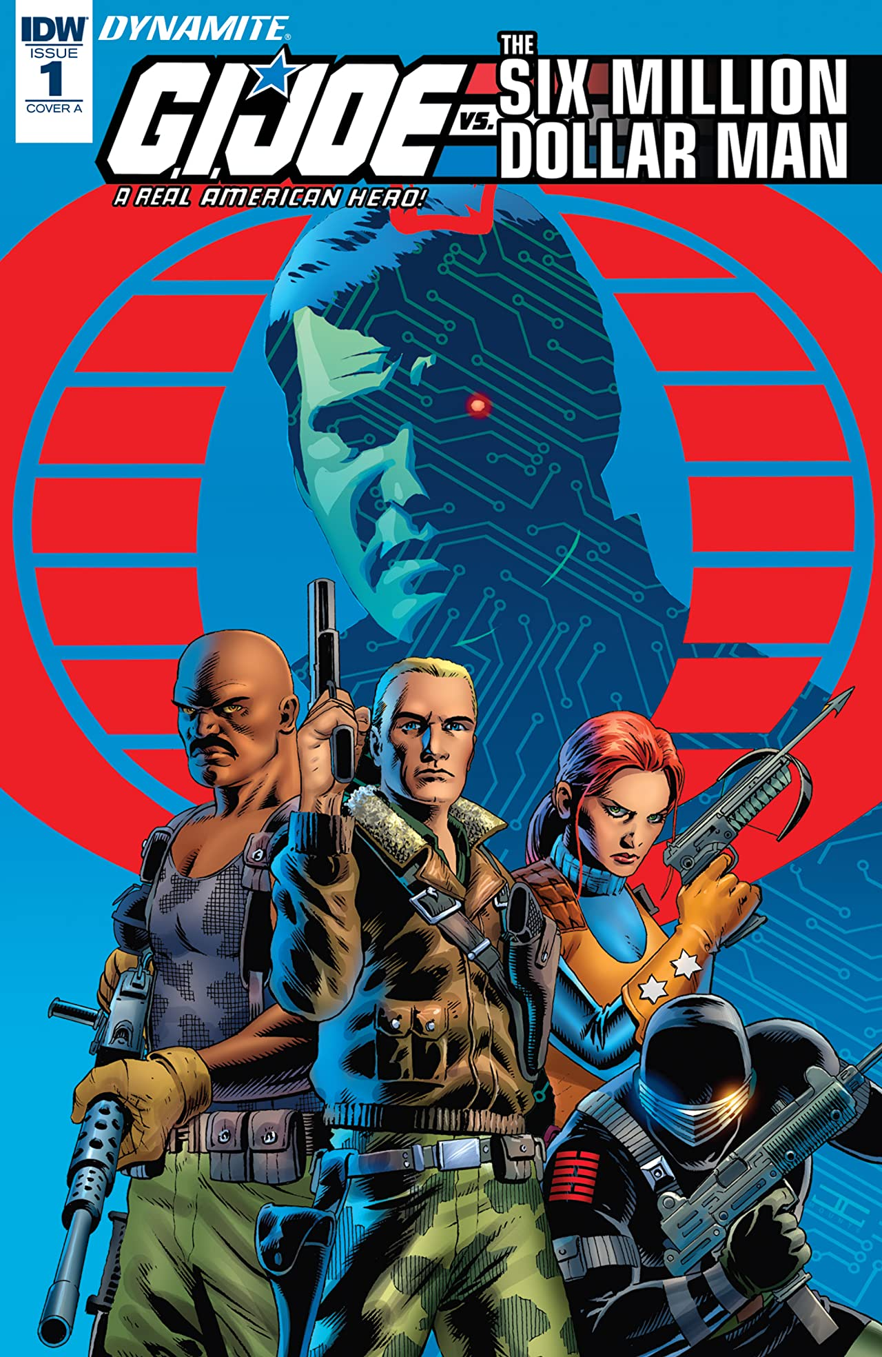 G.I. Joe: A Real American Hero vs. the Six Million Dollar Man #1