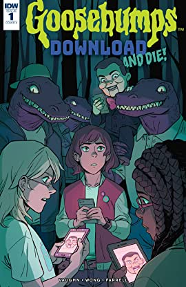 goosebumps download and die 1 comics by comixology