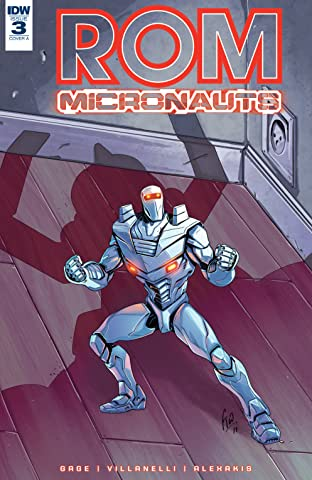 ROM & The Micronauts #3