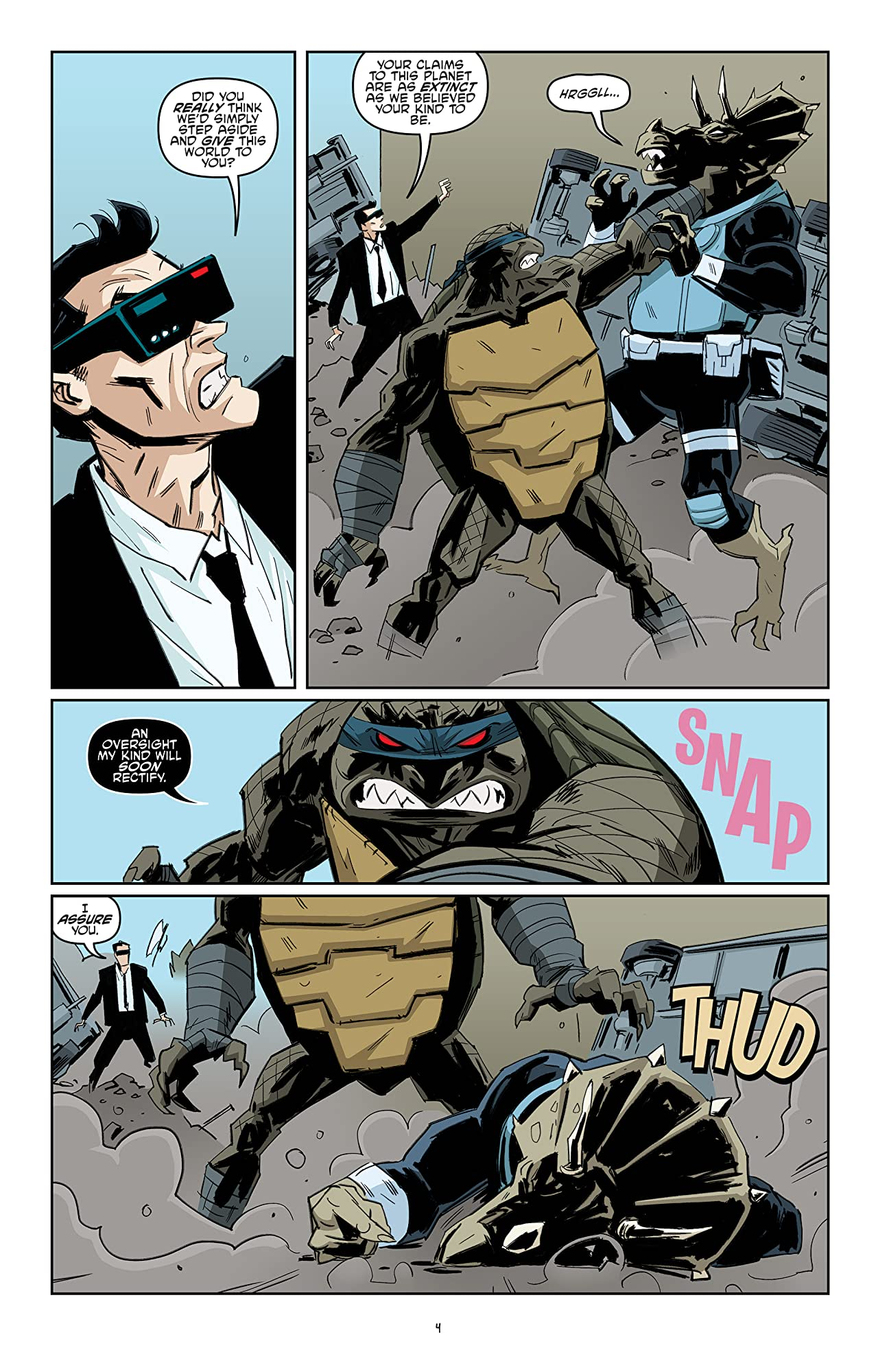 Teenage Mutant Ninja Turtles #79