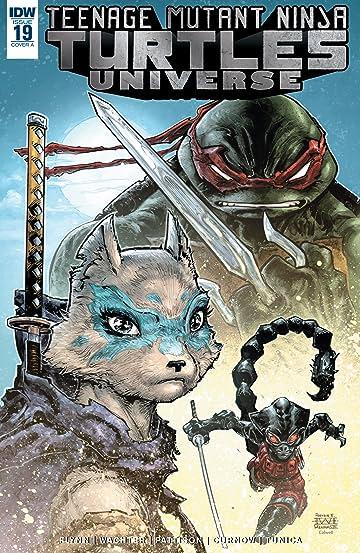 Teenage Mutant Ninja Turtles Universe #19
