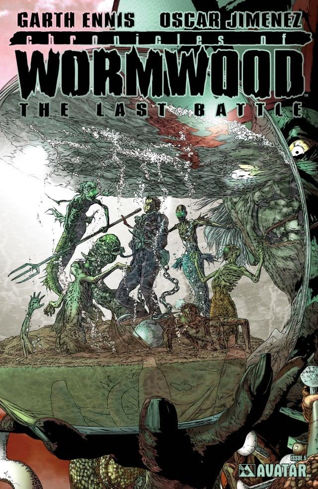 Chronicles of Wormwood: Last Battle #5 (of 6)